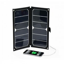 Chargeur solaire USB 12W